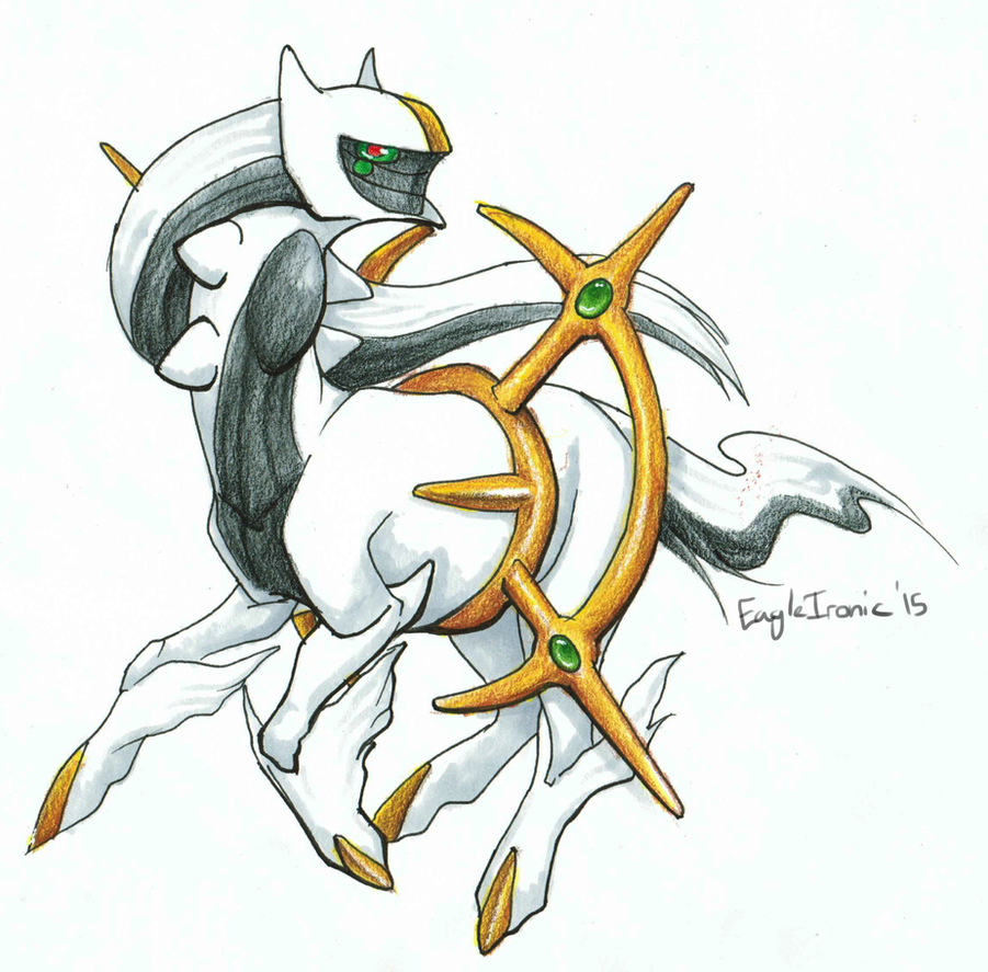 Arceus by EagleIronic