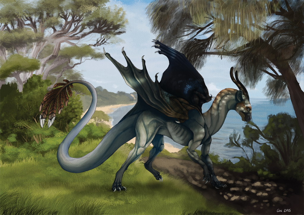 Australia dragon by EagleIronic