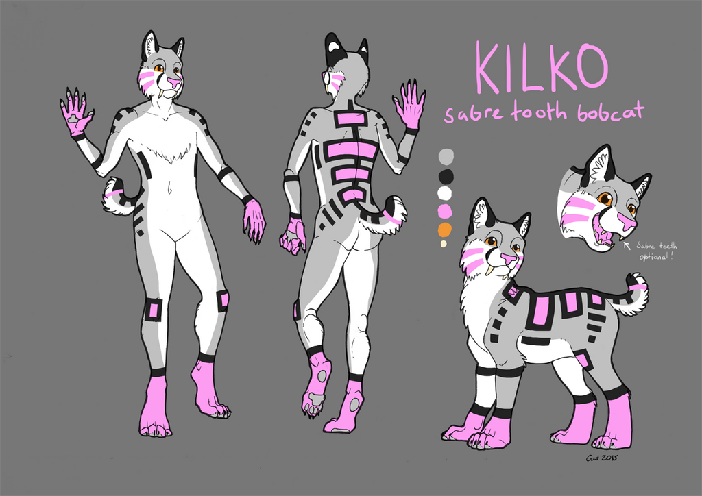 Kilko Ref Sheet 2015 by EagleIronic