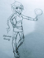 Qamra sketch by Roxy12333