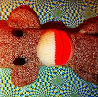 psychodelic monkey business by Okeiko