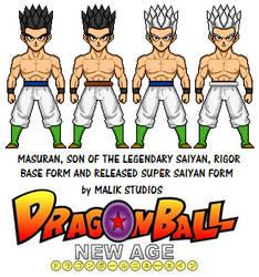 Masuran - Dragon Ball New Age by Macro-Dragon