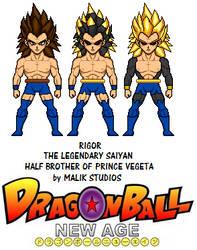 Rigor - Dragon Ball New Age by Macro-Dragon