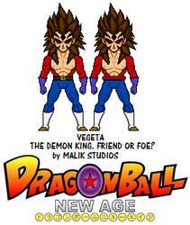 Demon King Vegeta - Dragon Ball New Age by Macro-Dragon