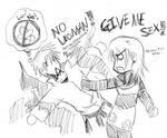 Ishida and Kokuei: NO BABIEZ
