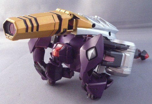 TFA Galvatron Canon Mode by Shinobitron