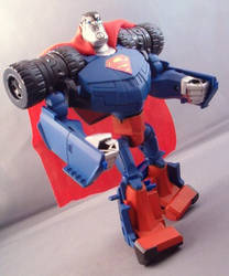 Transformers Animated Superman by Shinobitron