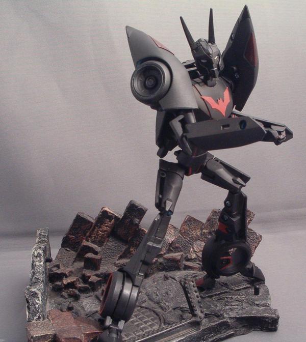 Transformers Batman Beyond 1 by Shinobitron