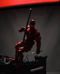 Daredevil V2 City Shot by Shinobitron