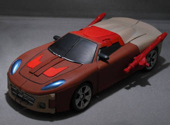 Chromedome Car by Shinobitron