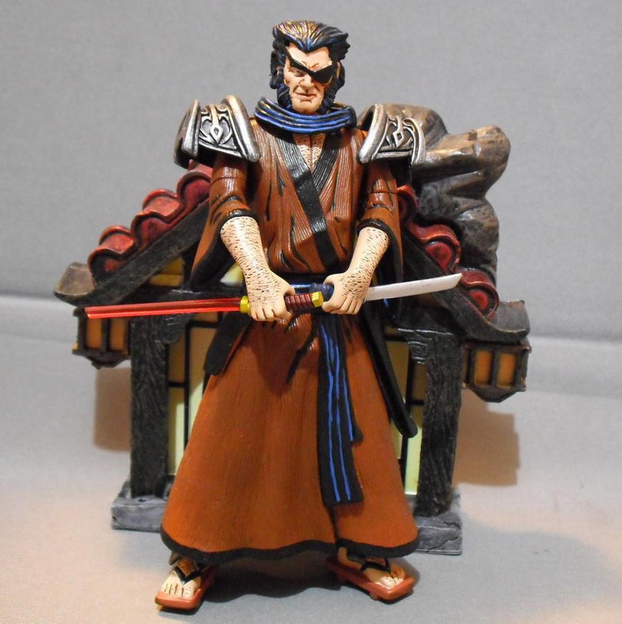 Samurai Wolverine by Shinobitron