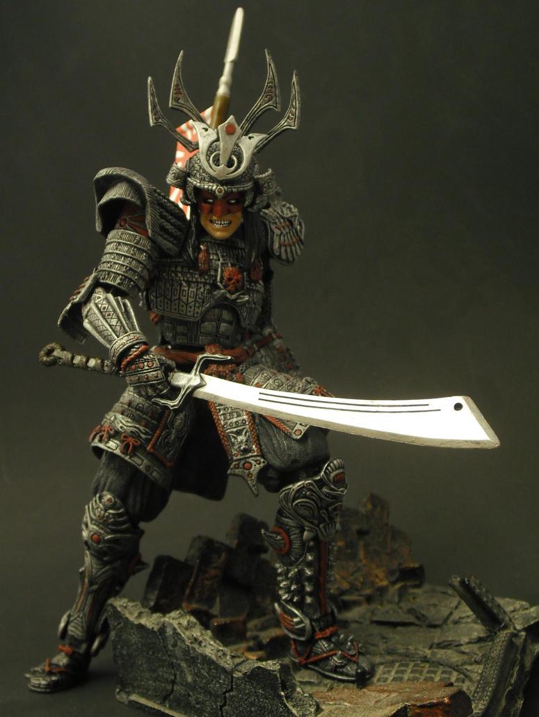 Silver Samurai by Shinobitron