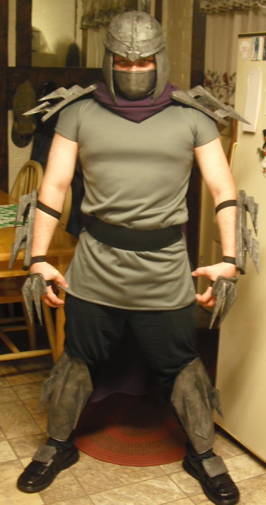 Shredder cosplay costume viewing gallery