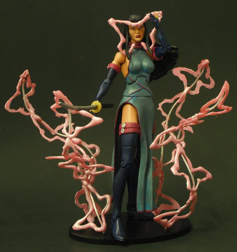 Psylocke by Shinobitron