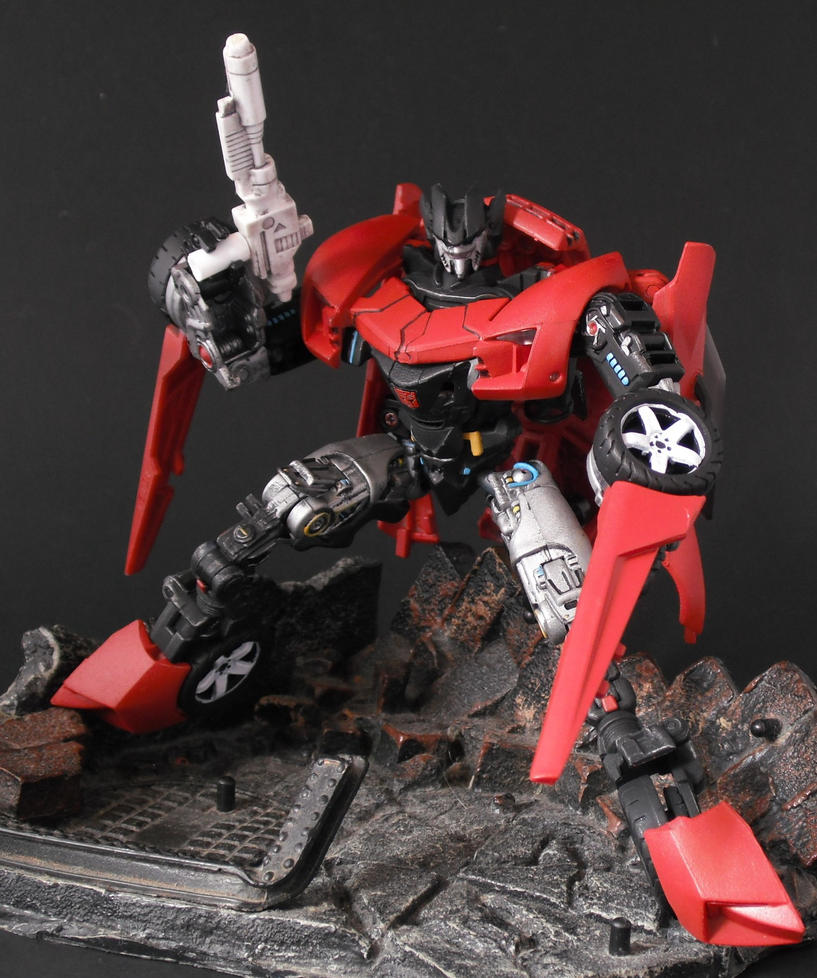Movie G1 Sideswipe by Shinobitron