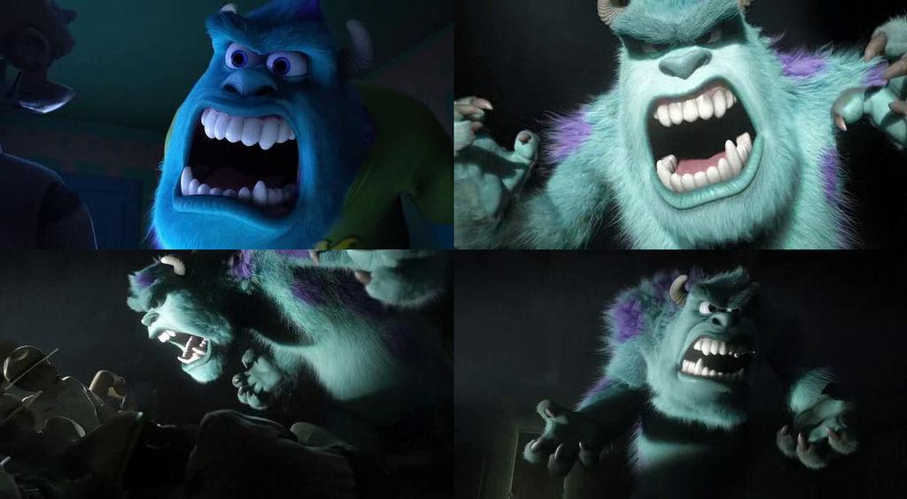 James P. Sullivan Scares (Monsters University) By