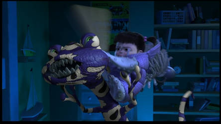 Monsters Inc and Monsters University by dlee1293847 on DeviantArt