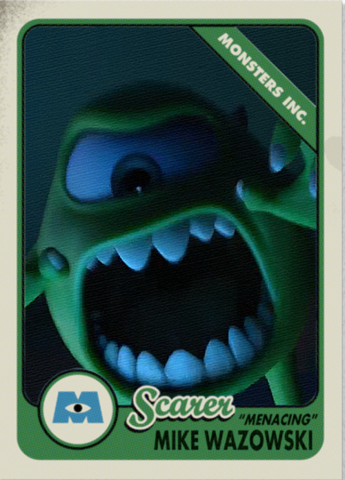 Scare Card Mike Wazowski by dlee1293847 on DeviantArt