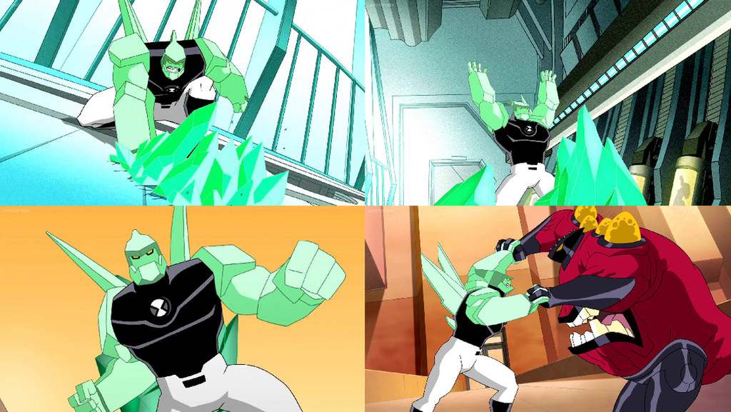 Ben 10 000 Of Ben 10 Ultimate Alien By Dlee1293847 On: Future Diamondhead (Ben 10) By Dlee1293847 On DeviantArt