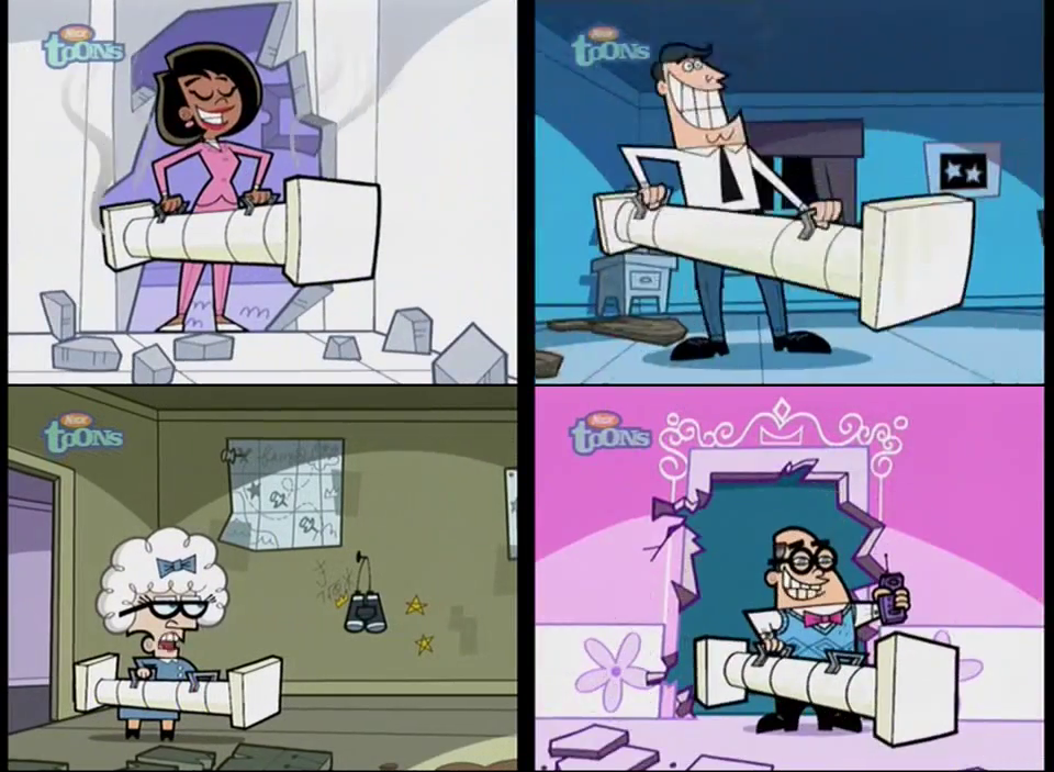 Parents With Battering Ram Fairly Odd Parents 565426903 on Fairly Odd Parents Mighty Mom And Dyno Dad