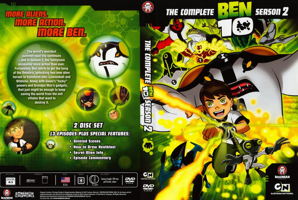 Ben 10 season 2 : Bacco cafe
