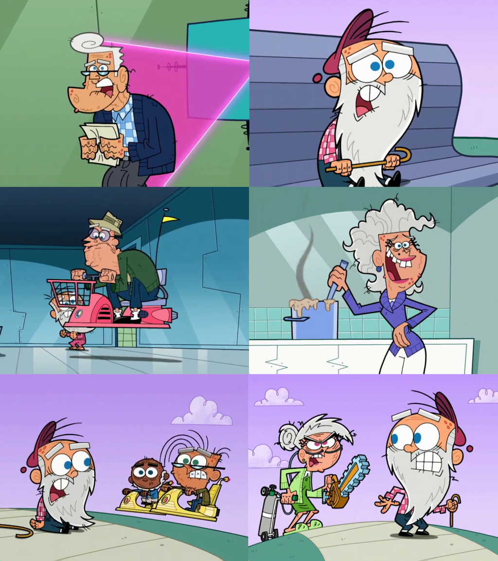 Old Fairly Odd Parents Characters by dlee1293847 on DeviantArt