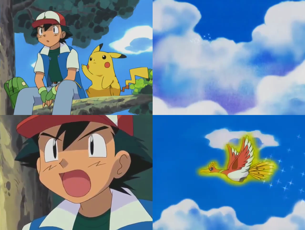 Pokemon Ash And Ho Oh Images