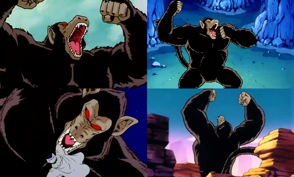 Dragon Ball - Gohan As The Great Ape by dlee1293847