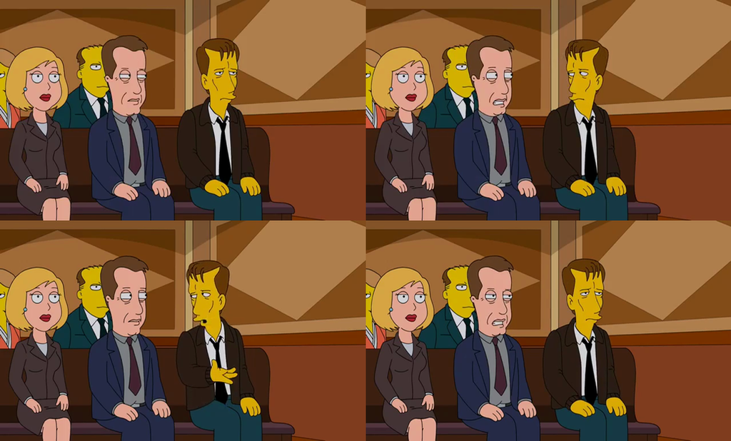 The Simpsons Guy - James Woods Meets James Woods by ... James Woods Simpsons