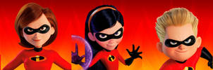 The Incredibles - The Parr Family