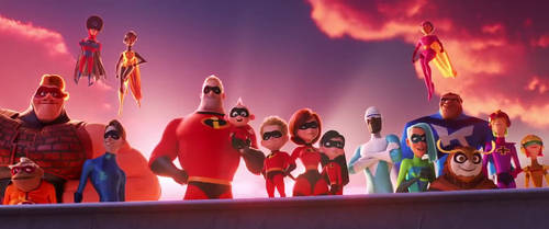 The Superheroes of Incredibles 2