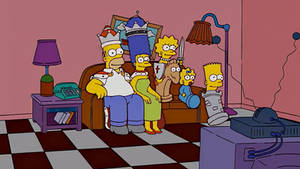The Simpsons - Chess Couch Gag