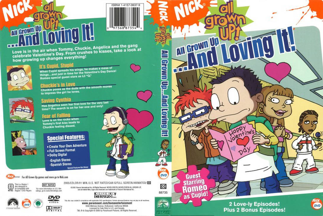 All Grown Up And Loving It DVD Cover by dlee1293847 on