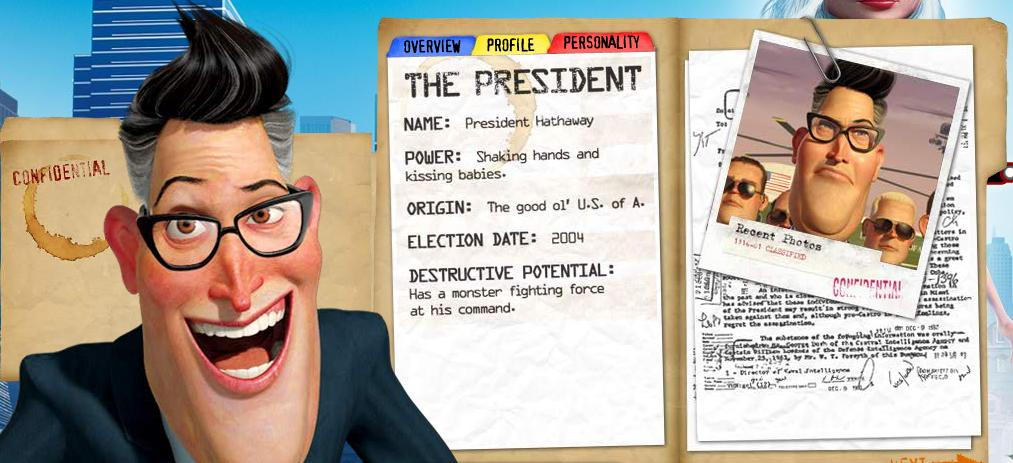 Monsters Vs Aliens The President Profile By Dlee1293847 On Deviantart