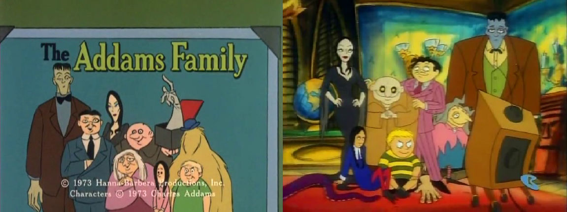 The Addams Family Cartoon Shows By Dlee1293847 On Deviantart
