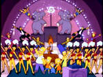 The Simpsons - Circus Line Couch Gag
