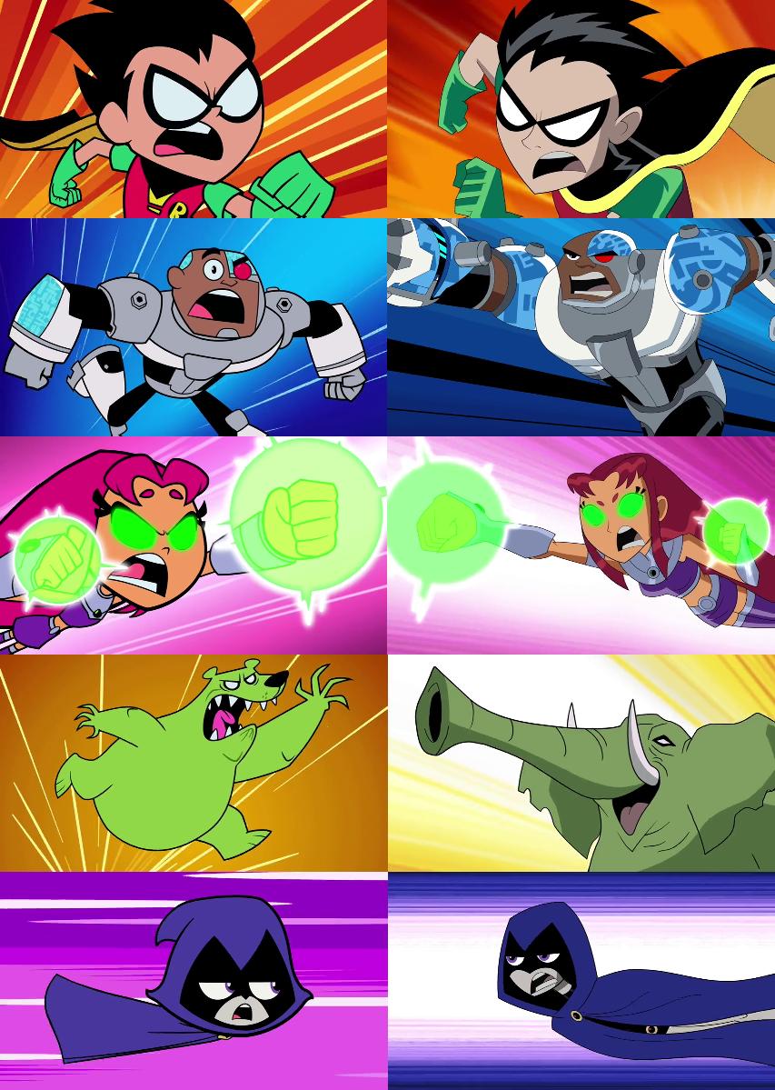 Teen Titans VS Teen Titans GO: Whats the big deal? by