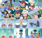 Pokemon - Ash and Dawn Trade Pokemon