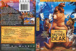 Brother Bear DVD Cover Front and Back