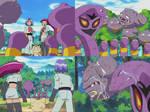 Pokemon - Releasing Arbok and Weezing