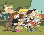 The Loud House Family All Together