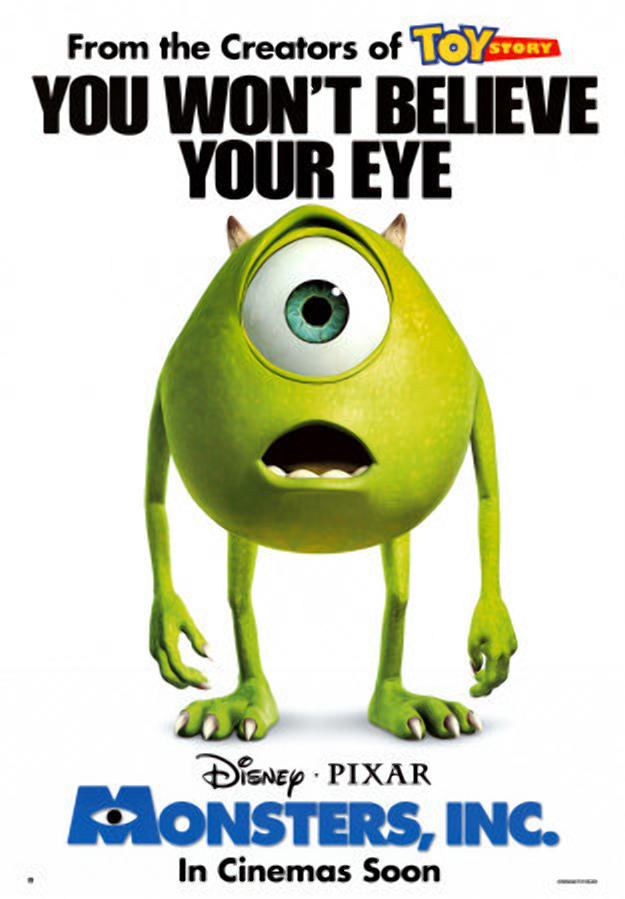 Monsters Inc - You Won't Believe Your Eye by dlee1293847 on DeviantArt
