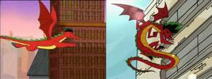 American Dragon - Jake's Dragon Form