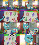 Gumball - Young Nicole Gives Her Mom a Thumbs Down