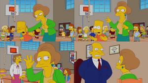 The Simpsons - Mrs. Krabappel Slaps Bart