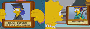 The Simpsons - Marge's Past and Future Life