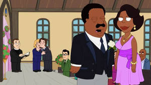The Cleveland Show - Terry and Paul Marriage Kiss