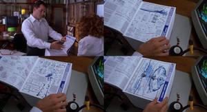 Inspector Gadget sees His Manual