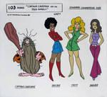 Captain Caveman and the Teen Angels (Model Sheet)