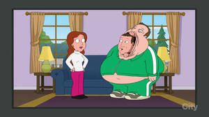 Family Guy - Kevin James Ate Adam Sandler